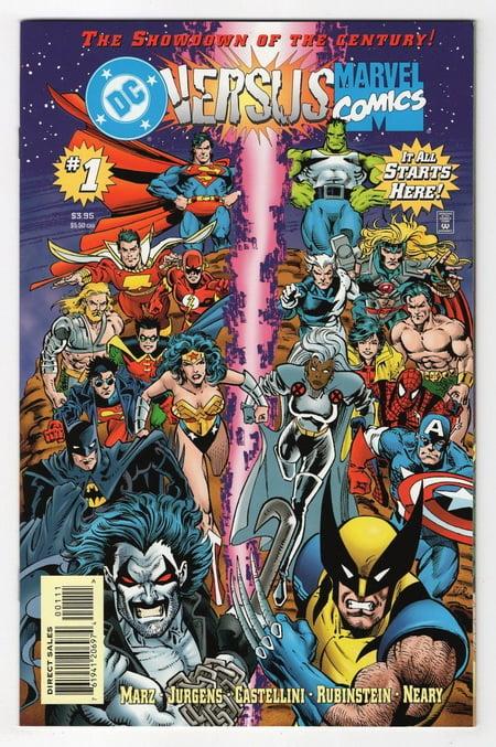 film cross-over DC Marvel