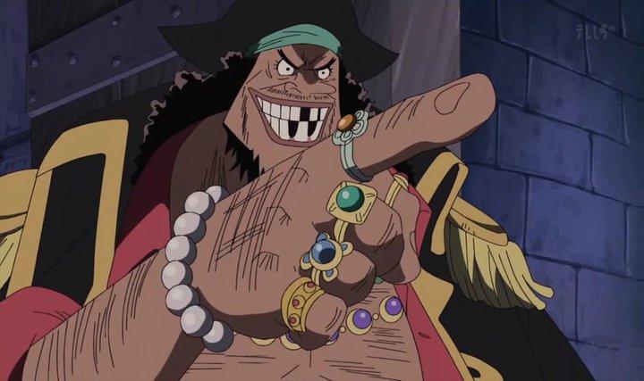 Blackbeard + Pihak yang Menghalangi Luffy