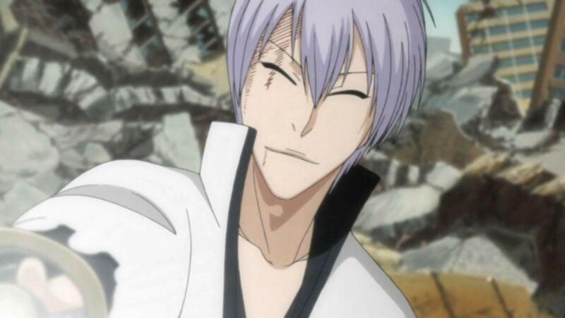 Gin Ichimaru + Karakter Anime Senyum Palsu