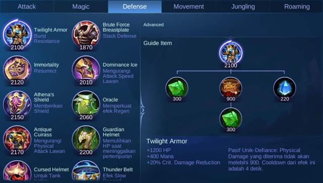 Item Defense
