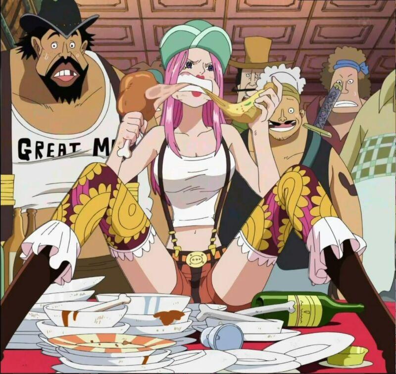 Jewelry Bonney + Karakter One Piece Rakus