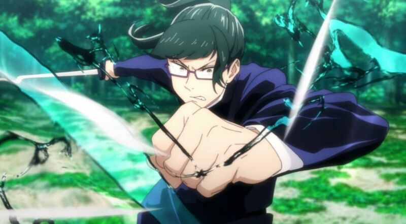 Maki Zenin + Karakter Anime Membunuh Orang Tua