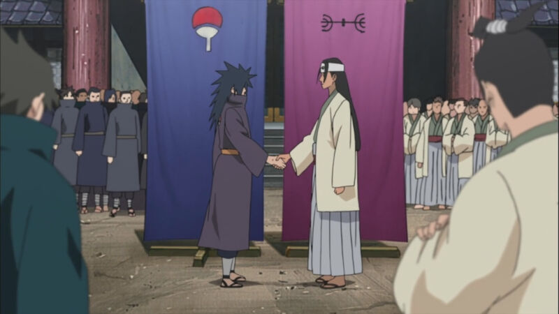 Membuat Desa Ninja + Prestasi Hashirama Senju