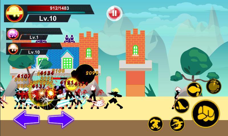 Stickman Hero Pirate Fight