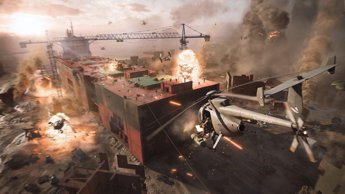 gameplay battlefield 2042 e3 2021