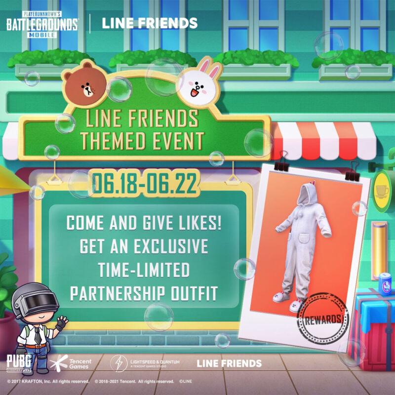 Line Friends Pubg Mobile Themed Event