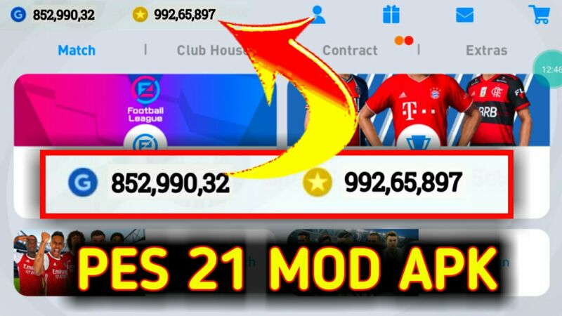 Pes Mobile Cheat