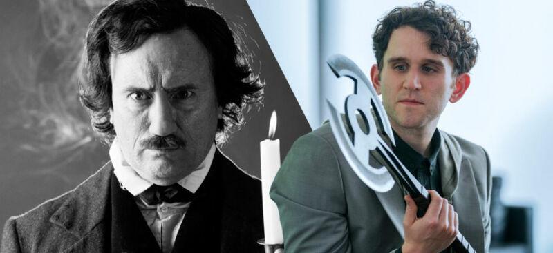 The Pale Blue Eye Harry Melling Edgar Allan Poe
