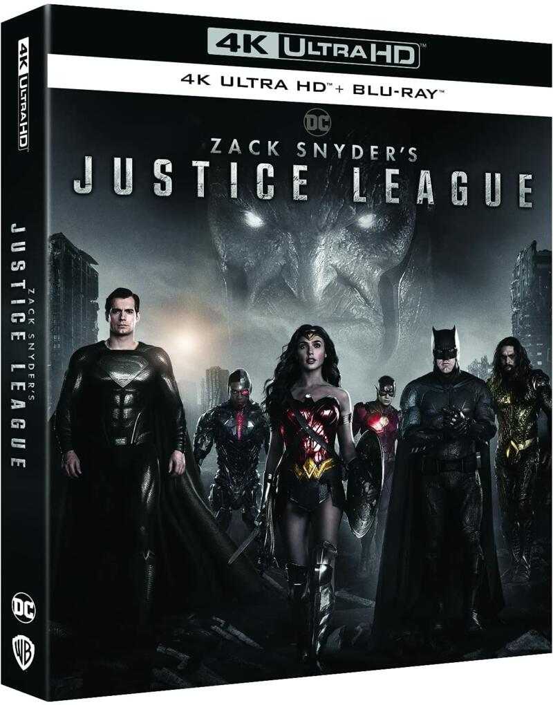 Zack Snyder Justice League Blu Ray