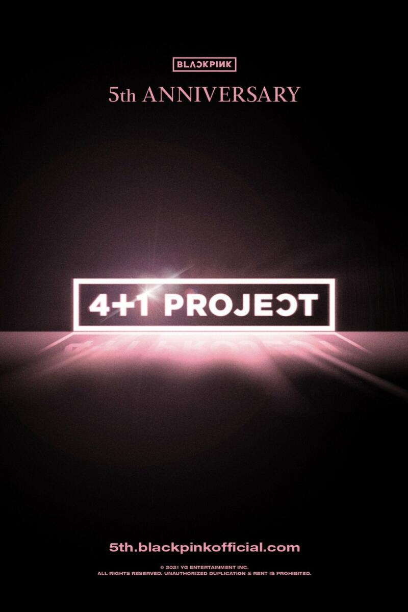 BLACKPINK '4+1' Project