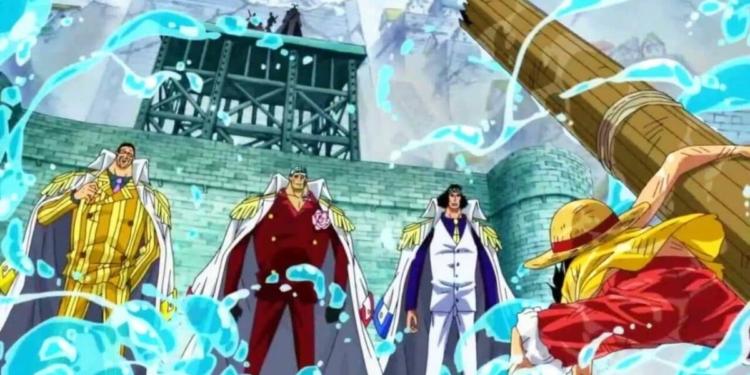 Alasan Kenapa Melawan Admiral Di One Piece Sangat Berbahaya