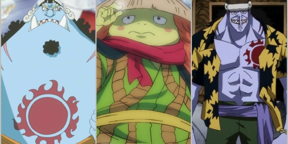 Inilah Fishman Terkuat Di Anime One Piece