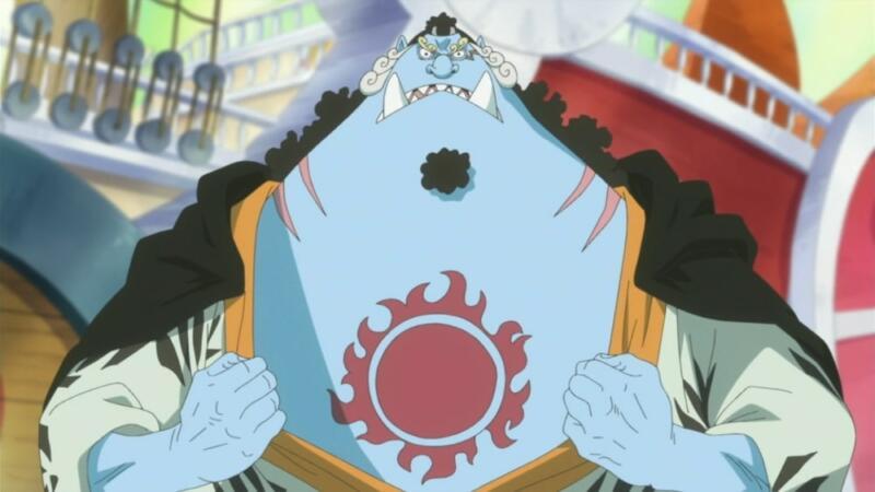 Jinbe   Fishman terkuat One Piece
