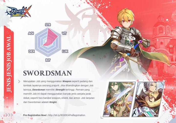 Swordman Ragnarok X Next Generation