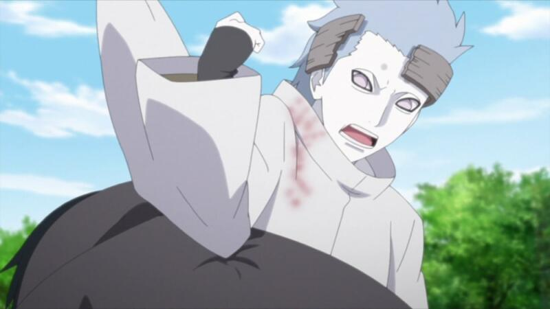 Tidak Memberikan Segel Karma   Urashiki Otsutsuki masih hidup