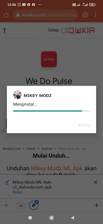 Mikey Modz ML Apk
