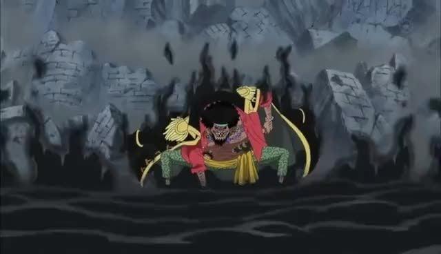 Yami Yami No Mi Bisa Menghilangkan Kekuatan Gomu Gomu No Mi   Luffy kesulitan melawan Kurohige