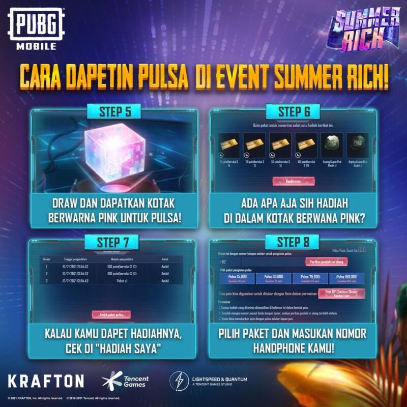 Event Summer Rich Cara Dapetin 2