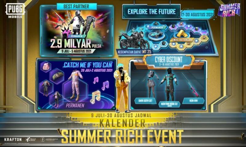 Kalender Summer Rich Event