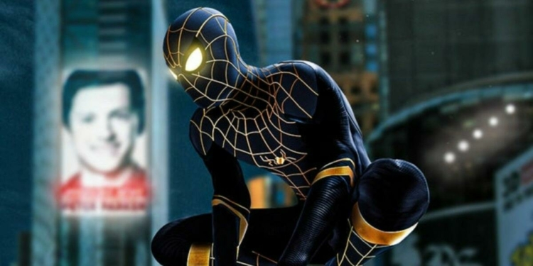 Spider Suit Black And Gold