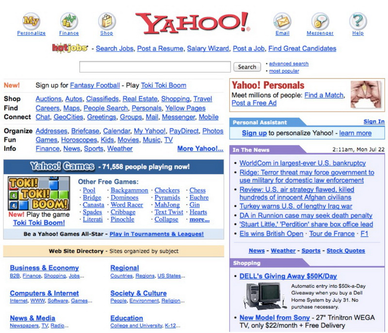2002 Yahoo