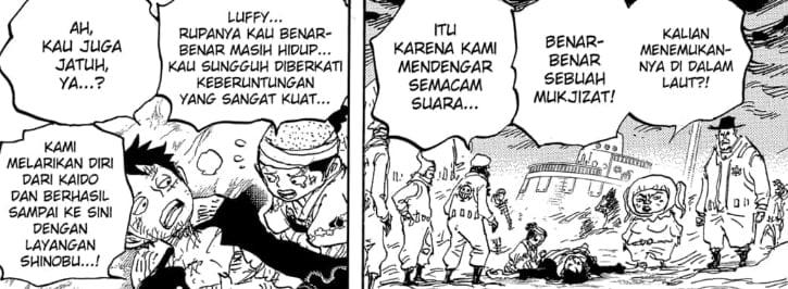 Akhirnya Luffy Bangkit Kembali
