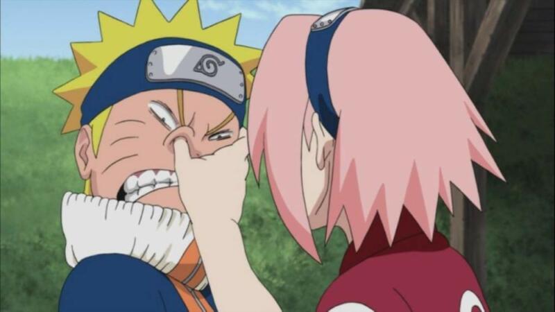 Kasar Terhadap Naruto   Alasan Sakura dianggap beban