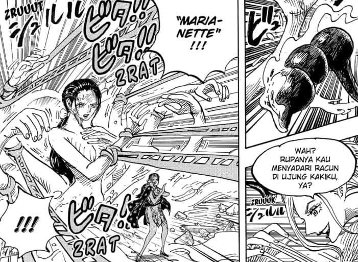 Pertarungan Robin Dan Black Maria