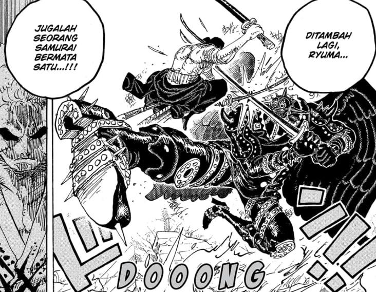 Ryuma Seorang Samurai Bermata Satu