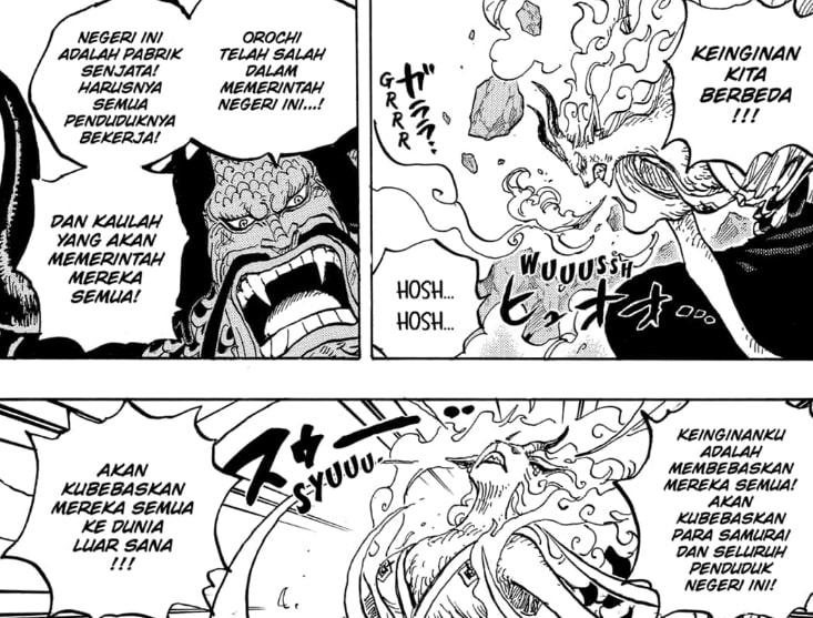 Salah Satu Kemampuannya Berhubungan Dengan Penglihatan Masa Depan | Kekuatan Buah Iblis Yamato