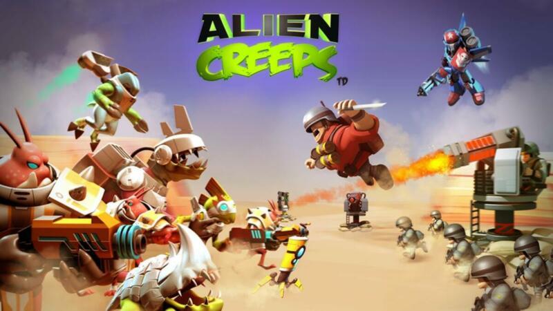 10 Game Alien Android Terbaik Aliens Creep Td 1