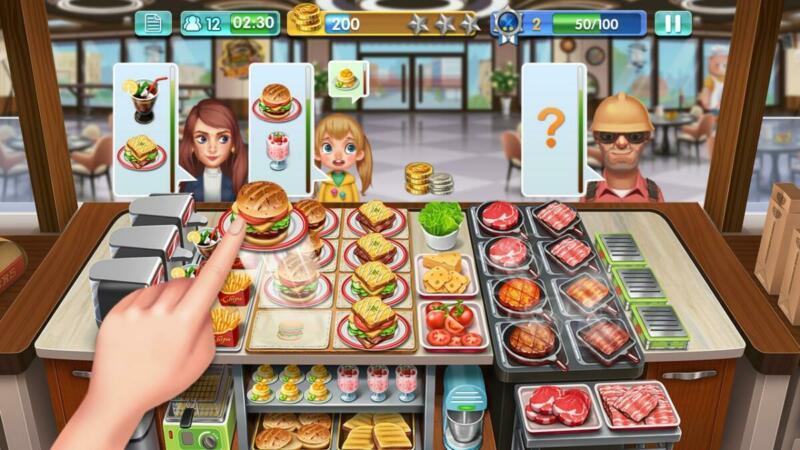 10 Game Memasak Android Terbaik Crazy Cooking Chef