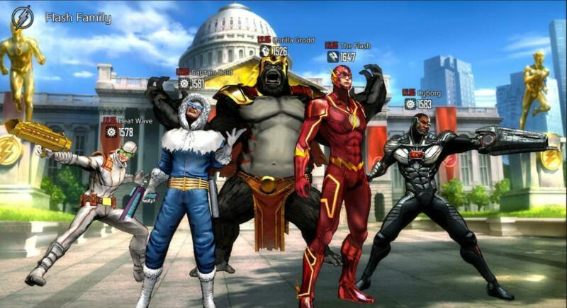 10 Game Superhero Android Terbaik Dc Unchained