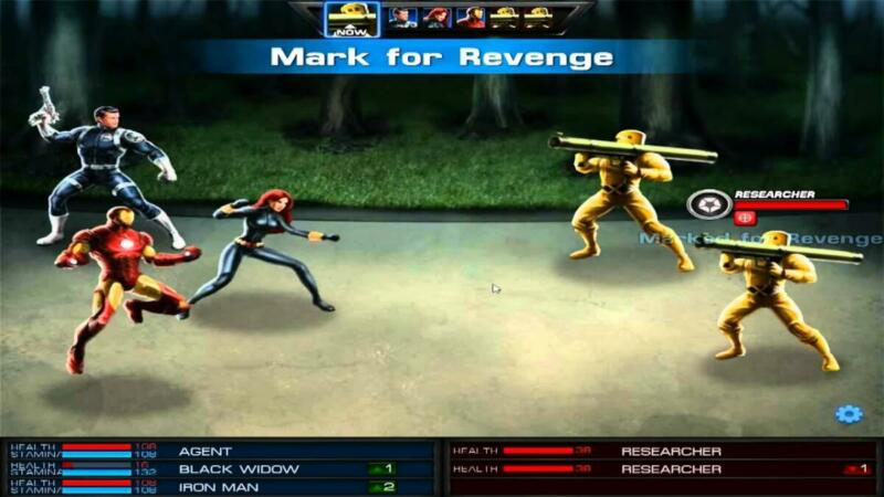 10 Game Superhero Android Terbaik Marvel Avengers Alliance