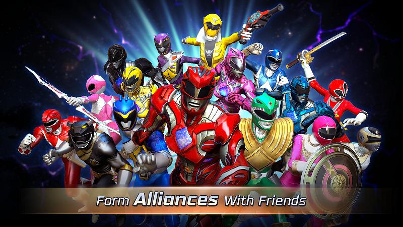 10 Game Superhero Android Terbaik Power Rangers