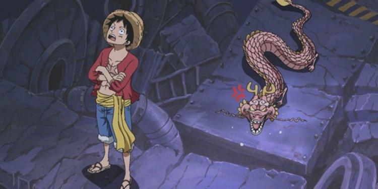 Dua Naga Yang Saling Berhadapan, Manga One Piece 1026