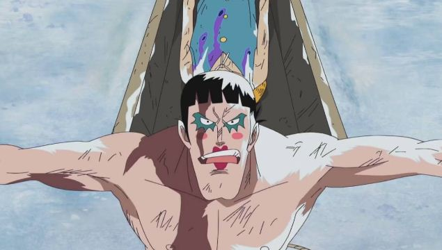 Melindungi Luffy Yang Sekarat Dari Makhluk Impel Down