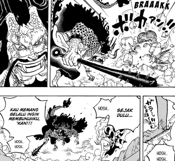 Pertarungan Yamato Melawan Kaido