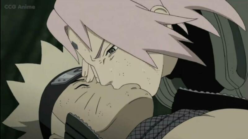 Sakura Haruno | karakter yang mencium Naruto