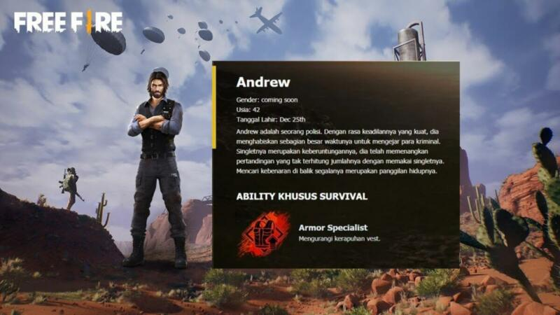 Skill Andrew Free Fire