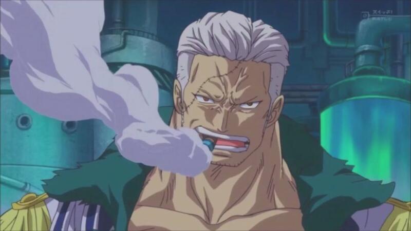 Smoker | karakter mendapat julukan dari Luffy