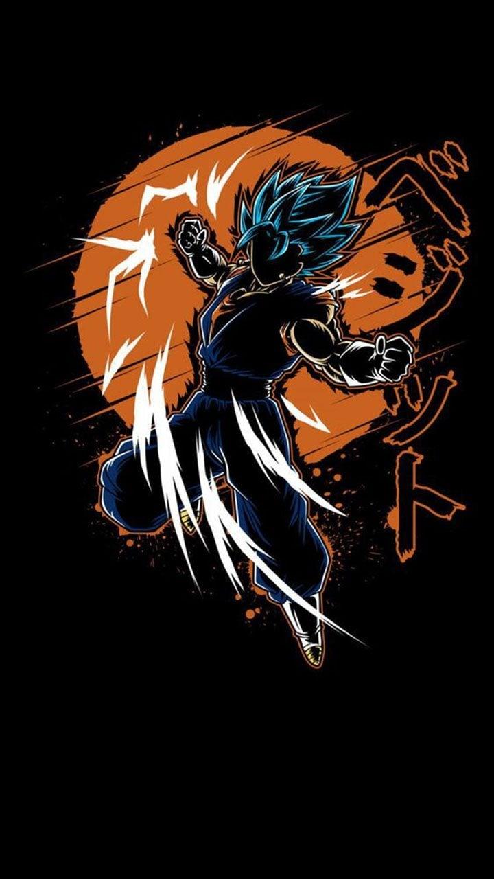 Goku Silhouette