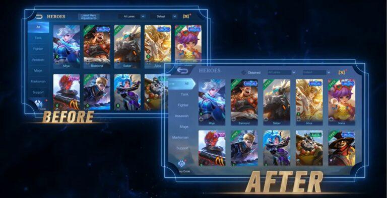 Hero Display Screen
