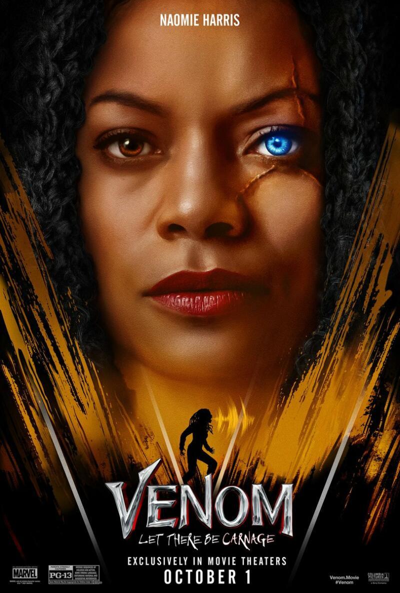 Naomi Harris Venom Let There Be Carnage