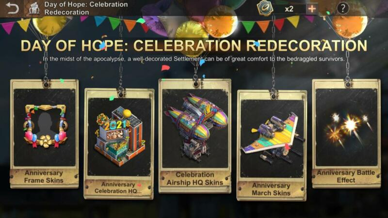 State Of Survival Day Of Hope