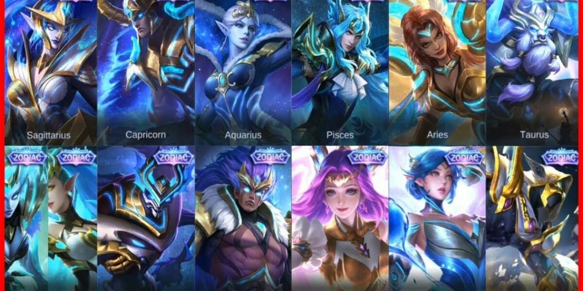Urutan Skin Zodiac Mobile Legends