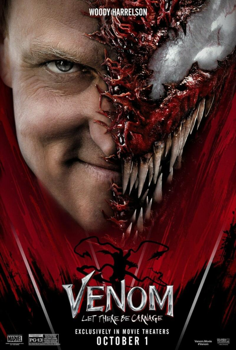 Woody Harrelson Venom Let There Be Carnage