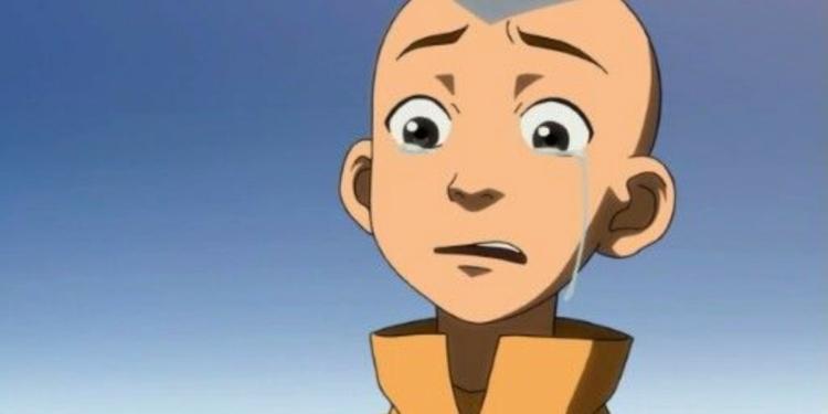 momen ceroboh aang sebagai avatar